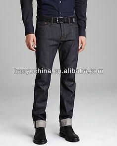 Japanese denim lisière 2014 jeans, pantalons jeans pantalons pour hommes à vendre( hym524)