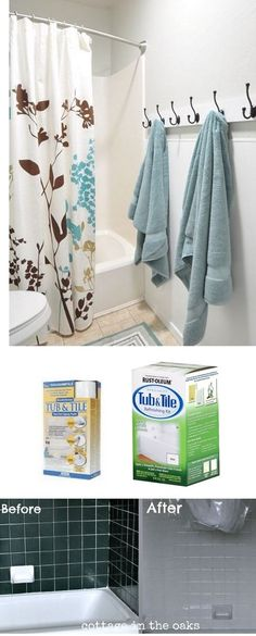 Centsational Girl » Blog Archive Solutions for Renters: Bathrooms - Centsational Girl #bathroomimprovements