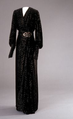 Evening dress, early 1930s