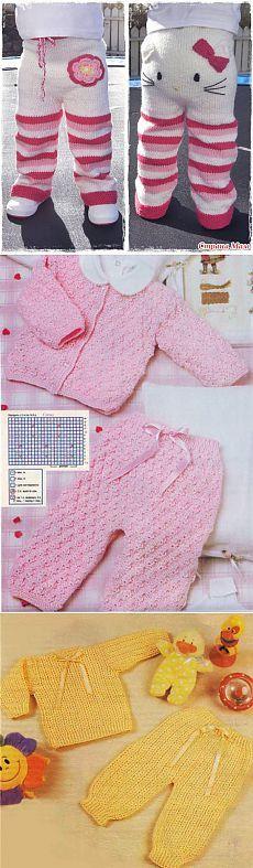 как вязать штанишки для девочки » Петля - вязание на все случаи жизни!