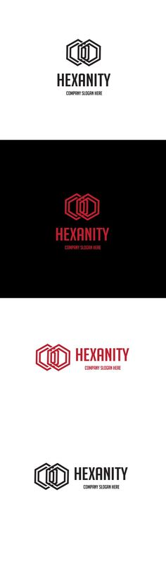 Hexanity Logo by goodigital on @creativemarket