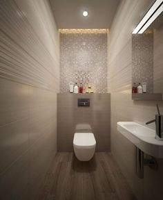 - Gartenprojekte - – Gartenprojekte - You are in the right place about asian interior office Here we offer you the most beautiful pictures Small Toilet Room, Guest Toilet, Downstairs Toilet, Small Bathroom, Bathroom Design Luxury, Bathroom Layout, Modern Bathroom Design, Bad Inspiration, Bathroom Inspiration