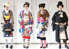 Fling every convention to the wind, and change the length on your kimono
