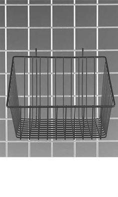 Black Mini-Grid Baskets