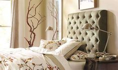 Headboard: stylish accent in bedroom and tips for making with their hands | Best Interior Design Ideas - Beautiful Home
