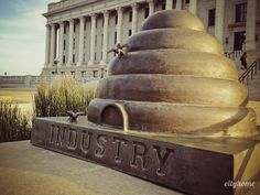 State Capitol Meditation Morning. #utah #statecapital #views #photography