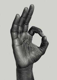 Hand gestures on Behance