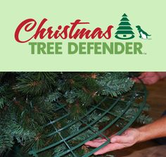 The Christmas Tree Defender! Cats and Christmas trees don't mix. Here's a way to keep everyone in the family happy and healthy this Christmas!