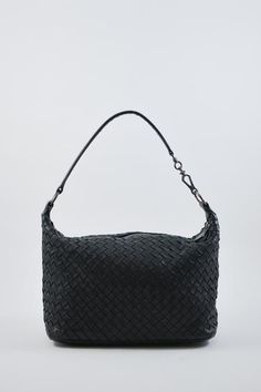 4c38b000e02466 Bottega Veneta Black Intrecciato Shoulder Bag Designer Consignment, Bottega  Veneta, Leather Working, Luxury