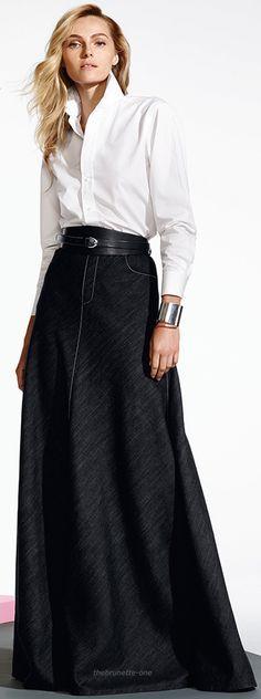 ralph lauren '16 women fashion outfit clothing style apparel /roressclothes/ closet ideas