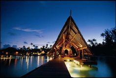 A Romantic Destination For Love Birds - Bora Bora #paradise #travel #vacation