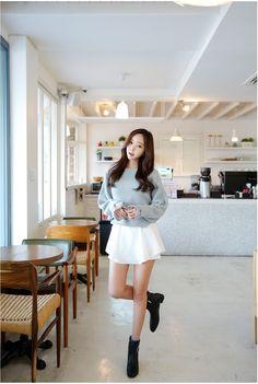 Balloon Bling Knit   Korean Fashion