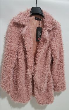 Elegant Long Fur Coat Gender: Women Outerwear Type: Wool & Blends Decoration: Hollow Out,Pockets Clothing Length: Long Sleeve Style: Regular Pattern Type: Solid Type: Asymmetric Length Closure Type: O Long Fur Coat, Outerwear Women, Coats For Women, Sleeve Styles, Fashion Outfits, Clothes, Classy Fashion, Cyber Monday, Black Friday