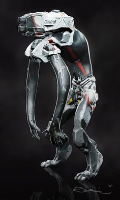 LiftBot by Shinohara Heavy Industries - #Sindome #Cyberpunk | Robot, The Running by distritopapillon
