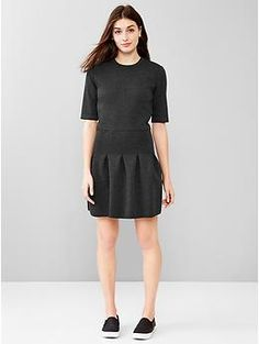 GAP  Scuba fit & flare dress