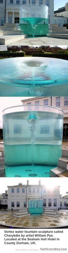 Vortex Water Fountain