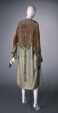 """Persian"" coat, silk with metallic thread, Paul Poiret designer, French, 1926"