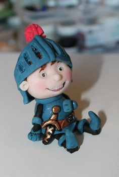 Mike the Knight by Zoe's Fancy Cakes, who also has a You Tube channel, check out her fb page! they are fab :)
