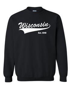 Wisconsin Crewneck Sweatshirt