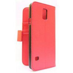 Galaxy S5 punainen puhelinlompakko.