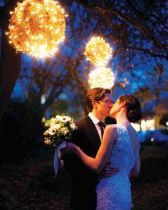 Outdoor Wedding Lighting Ideas From Real Celebrations | Martha Stewart Weddings
