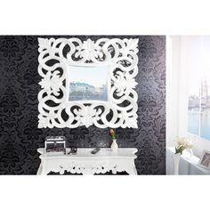 Moderne spiegel Venice wit - 15628