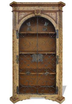Bon Old World Tuscan Bookcase