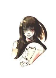 Kurona and Nashiro (Tokyo Ghoul Trump Cards)