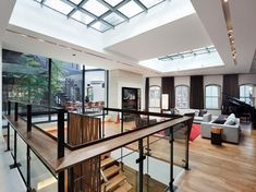 Striking six-story townhouse in TriBeCa's West Historic District