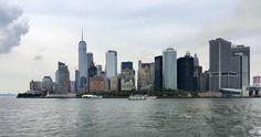 Skyline desde el ferry a Staten Island oooooh! #USA17IM #NY