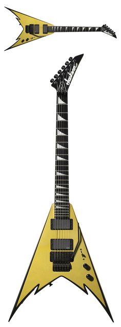 Jackson Phil Demmel Signature King V Electric Guitar Gold With Black Bevels