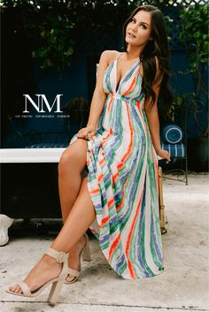 Shop NanaMacs for trendy women's maxi, floral, bodycon, boho dresses and more! New arrivals daily. Fast and free USA shipping! Estilo Resort, Boho Dress, Dress Skirt, Classy Outfits, Cute Outfits, Trendy Clothes For Women, Striped Maxi Dresses, Everyday Outfits, Boutique Clothing