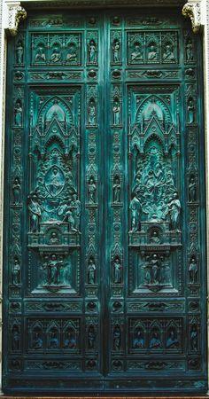 """Doors"" by Victor Kasatkin on 500px - Door Details in Florence, Italy"