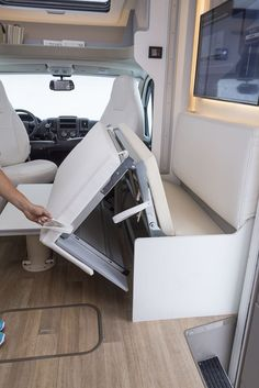 Adorable Wood Interior Ideas For Sprinter Van Camper, Volkswagen campers stick out from the crowd. A Sprinter van camper is readily the most flexible type of Sprinter RV. Our very last RV had one small ba. Roller Team, Campervan Bed, Campervan Interior, Sprinter Van Conversion, Camper Van Conversion Diy, Sprinter Camper, Van Camping, Camping Hacks, Camper Caravan