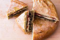 Vegetarian Pressed Sandwich