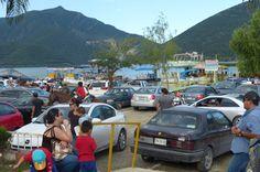 """Ingresan cerca de dos mil 600 automóviles a presa """"La Boca Telediario"""