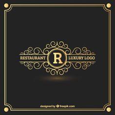 logo vintage dorado - Buscar con Google