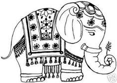 Elephant Pattern.