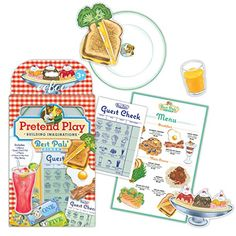 eeBoo Pretend Play Best Pals Diner Set * You can get more details by clicking on the image. Note:It is Affiliate Link to Amazon.