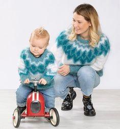 LINE LANGMO (@linelangmo) • Instagram-bilder og -videoer Baby Strollers, Indigo, Fur Coat, Knitting, Mini, Cute, Jackets, Patterns, Fashion