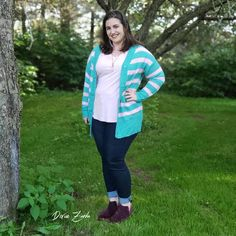 The Lucille is a button up cardigan. Many people are referring to the Lucille as a grandpa or boyfriend cardigan because it's meant to be worn oversized. Learn about the LuLaRoe Lucille sizing, pricing, and my review!