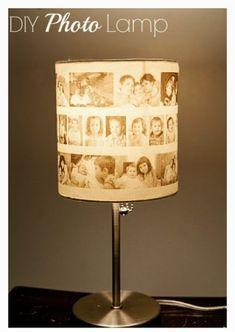 Easy DIY Photo Lamp Tutorial