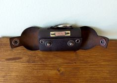 Leather Dog Bag, Poop bag holder personalized! by VakalisCreations on Etsy