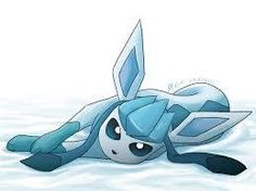 This is Glaceon a Ice pokemon