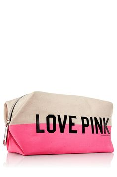 PINK Cosmetic Bag @ Bath & Body Works On Sale For $6!