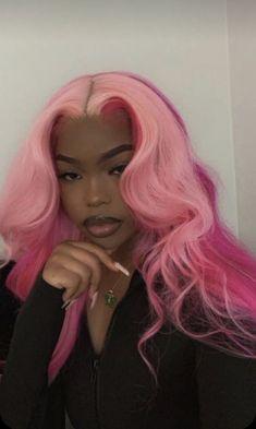 Baddie Hairstyles, Black Women Hairstyles, Pretty Hairstyles, Curly Hair Styles, Natural Hair Styles, Dyed Natural Hair, Hair Dye Colors, Red Hair Color, Color Red