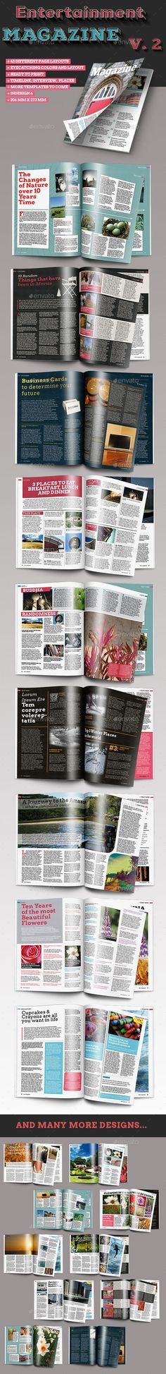 GraphicRiver - InDesign Magazine Templates (50 page)