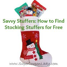 Some good ideas for free stocking stuffers