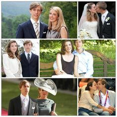 """R4R's """"Couples I Ship"""":Prince Louis and Princess Tessy  Together Since:2004(married 2006)  Next Step: Creating More Little de Nassau's"""