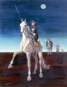 1961, Candido Portinari (Brodowski, SP, Brasil 1903-1962): Dom Quixote. Acervo digital ©Projeto Portinari.